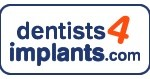 dentists4implants.com logo white background tall oblong